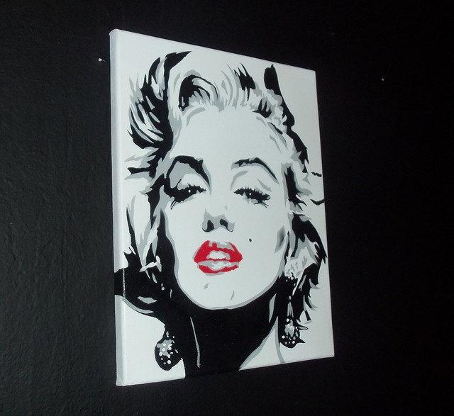 22 Best Marilyn Monroe Art Images On Pinterest Marilyn