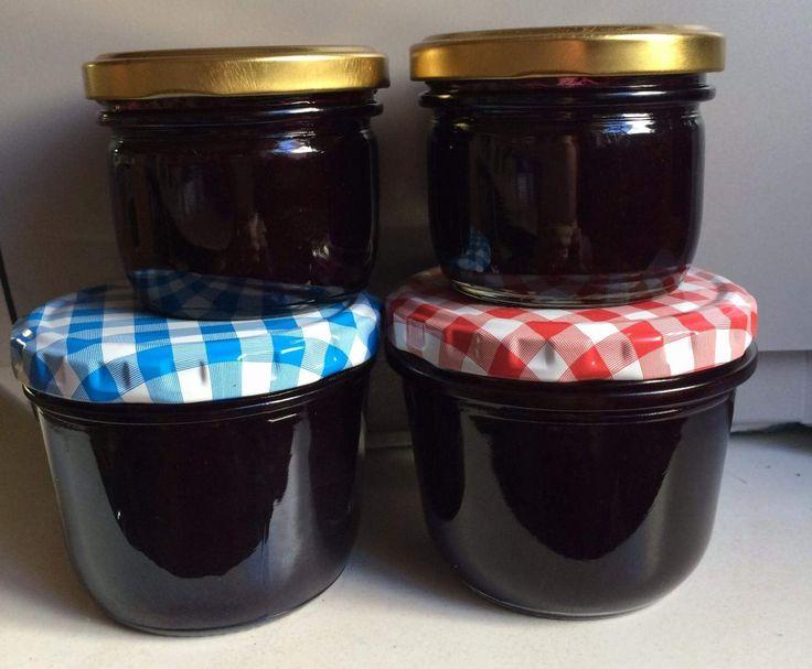 Rezept Heidelbeermarmelade aus gefrorenen Früchten von ASG - Rezept der Kategorie Saucen/Dips/Brotaufstriche