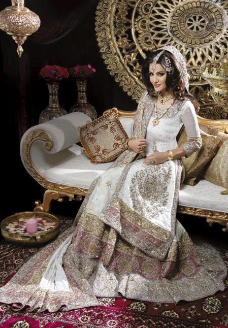 Luxury wedding dress - Pakistani style
