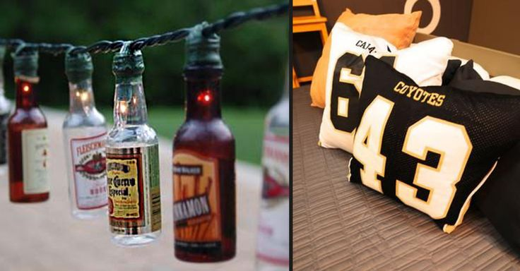 Ah, the man cave; the last remnant of the bachelor pad days. Every man deserves his own space, a room to invite the guys over, watch the game, or just kick back and relax. Unfortunately, a lot of the decorating ideas out there for just such a space are ridiculously expensive! Lucky for us, the internet is a resourceful place, and with a little bit of planning, some elbow grease, and a few beers, you can get just the look you're going for with minimal expenses! Check out a few of our favor...