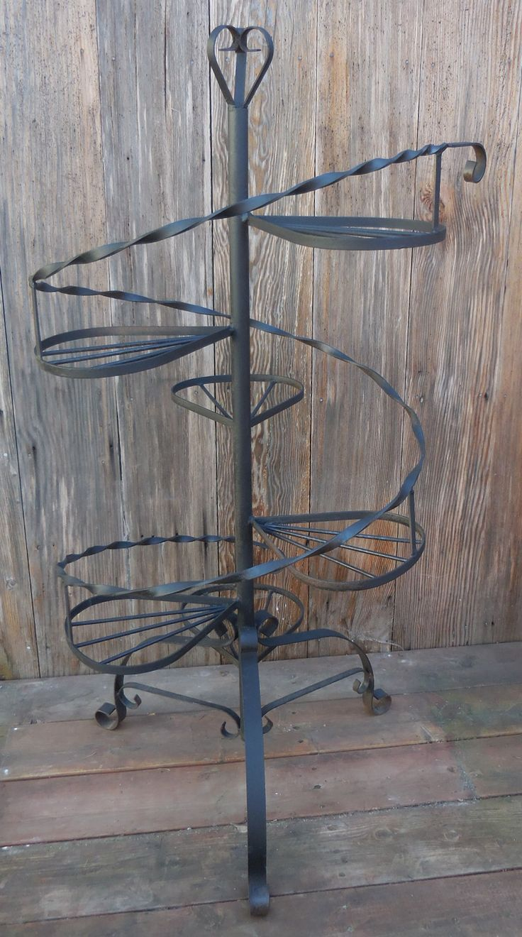 6 Tier Wrought Iron Plant Stand