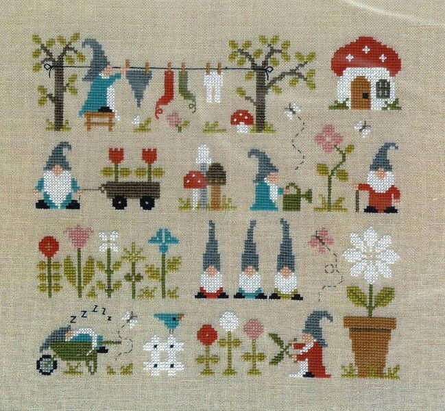 Crazy about Quilts counted cross stitch pattern book