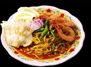 THIS IS RECIPE MIE ACEH (alloy noodles with seafood)