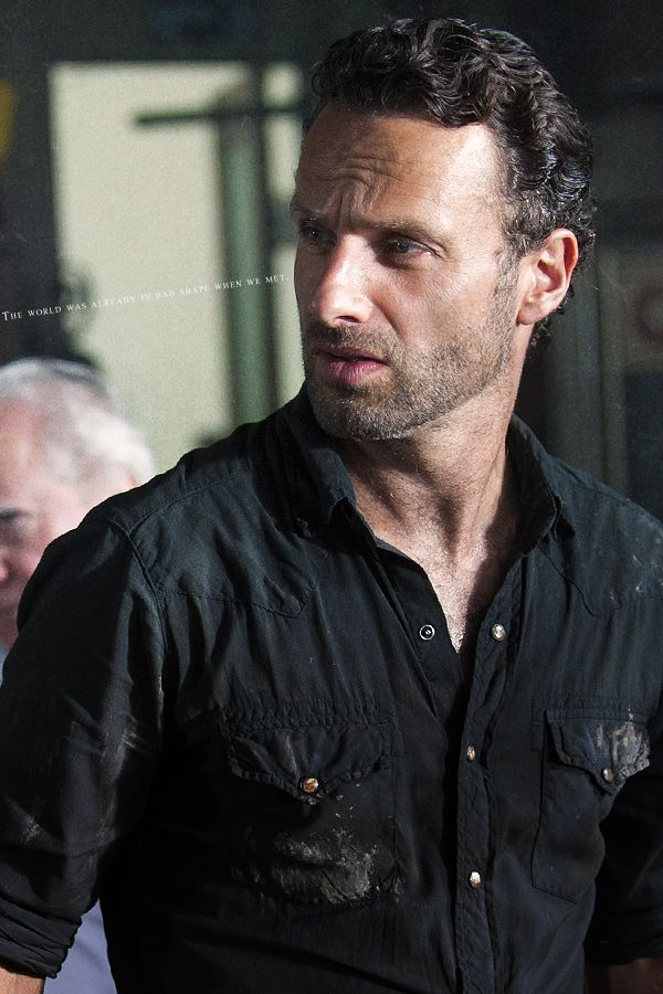 Andrew Lincoln..... hot damn!