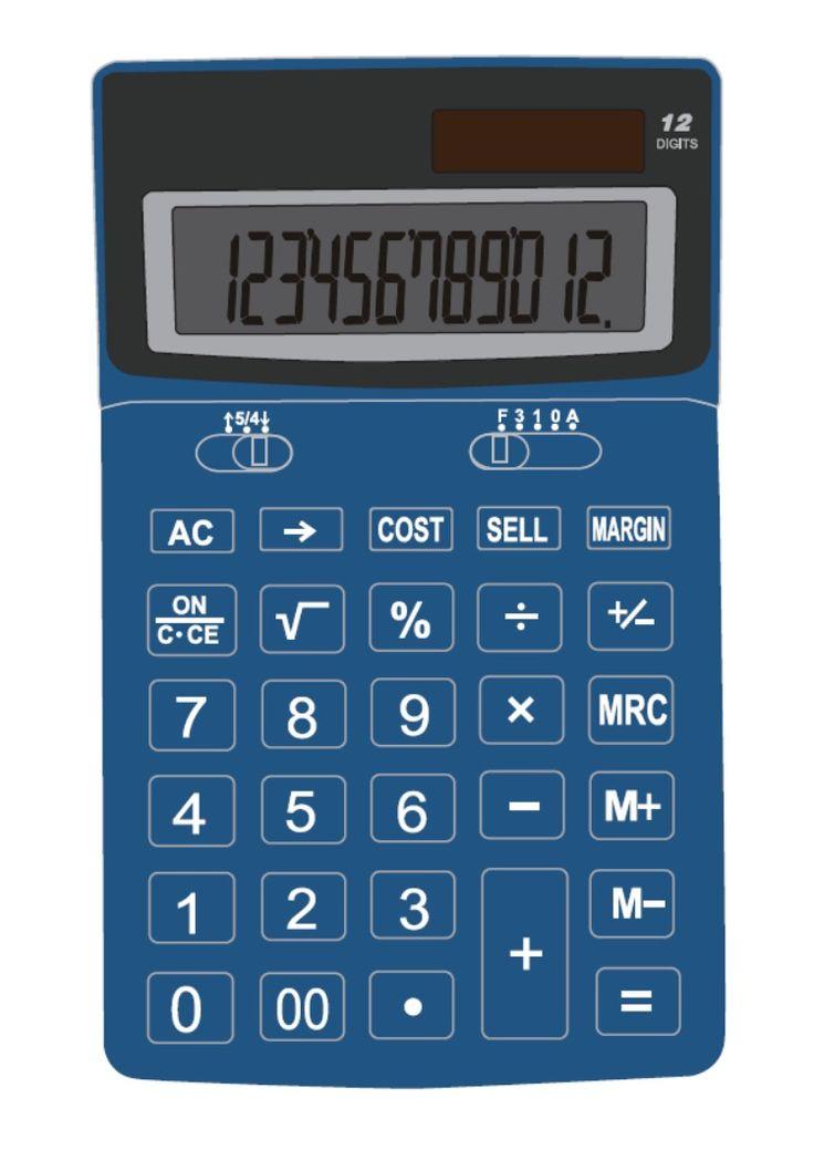 Desktop calculator painting ideas design