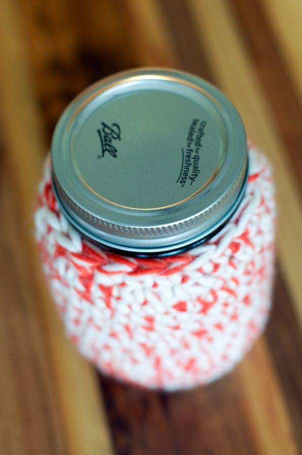 Mason Jar Cozy Tutorial