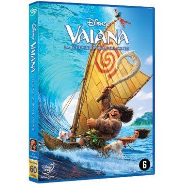 DVD Vaiana  Vaiana vertelt het verhaal over de dappere Vaiana die samen met de halfgod Maui de oceaan over zeilt om de eeuwenoude tradities van haar voorouders te herstellen.  EUR 17.99  Meer informatie