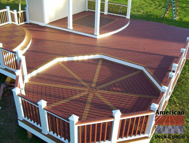 130 best images about decks on pinterest vinyls for Composite decking colors available