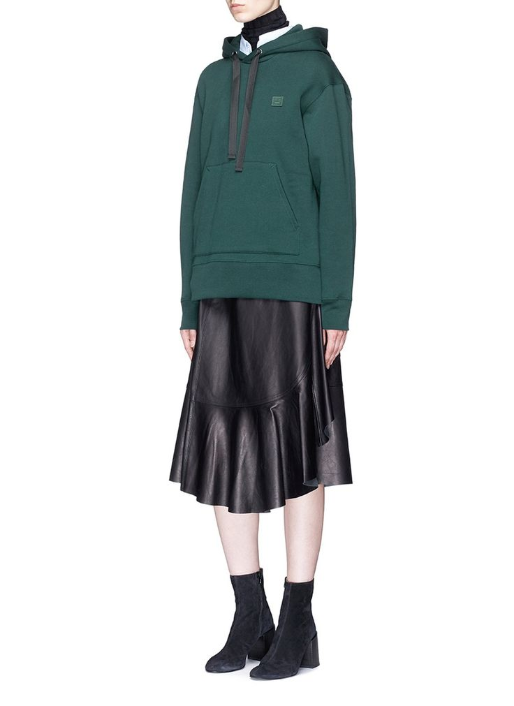 Figure View - Click To Enlarge - Acne Studios - 'Ferris Face' oversized hoodie