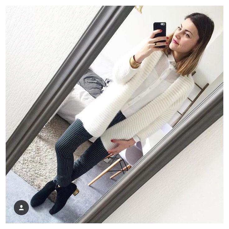 Amandine @amoureuseument_toi s'est trés joliment appropriée la chemise Karine de cozete  http://www.cozete.com/chemise-karine-c2x19587054