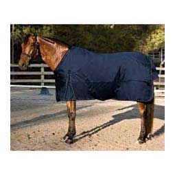 All Around Heavy Weight Turnout Horse Blanket Navy/Silver - Item # 32477
