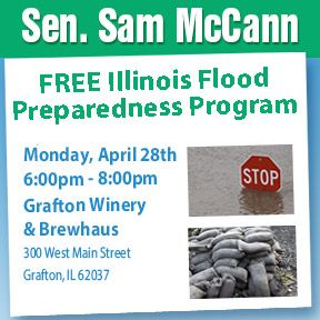 Sen. McCann wants to help you prepare for potential floods this spring. Join him in Grafton on April 28th to learn how to prepare!