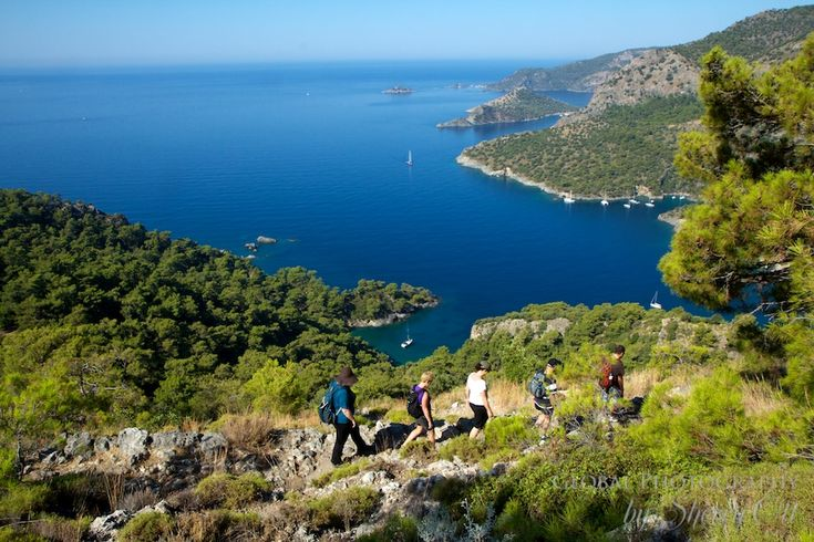 Walk Turkey's Lycian Way. 'Take a hike through history on a trail that traces the eastern Mediterranean coast beside turquoise waters, traditional farming Villages, wildflower-strewn hillsides and the relics of Lycian, Greek, Roman and byzantine civilisations.' http://www.lonelyplanet.com/turkey/mediterranean-coast/antalya