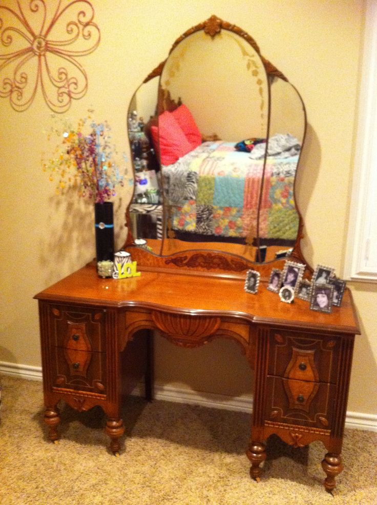 antique vanity set furniture. vintage vanity antique set furniture