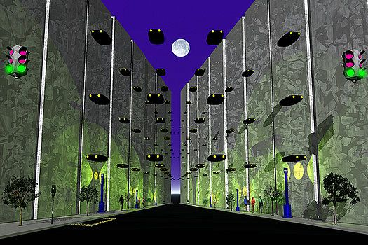 Moon Street by Mark Blauhoefer