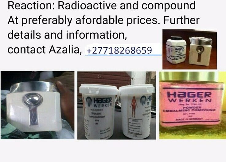 REAL BUSINESS<><><><>REAL DEAL <><><>REAL COMPOUND/POWDER HAGER WERKEN AND EMBALMING POWDER FOR SALE ALL OVER (MADE FROM GERMANY)  CALL DR COLE +27737785444/WHTSAPP DEFINITELLY BUSINESS DEAL,BOTH PINK & WHITE ACTIVE AND NON ACTIVE {ALL TYPES ARE DEPENDANT ON COLOR PURITY  we also have worldwide deliveries