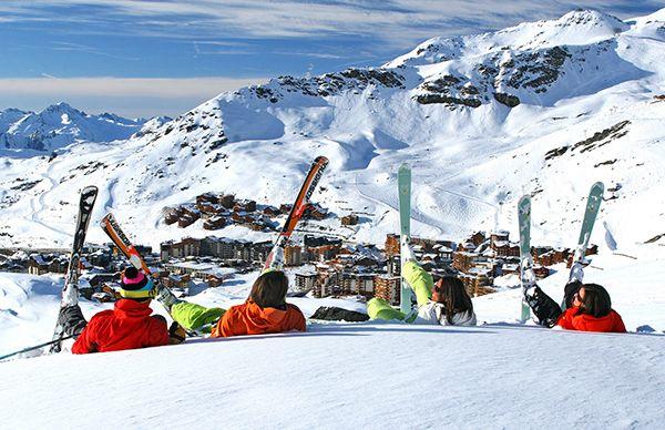 Валь Торанс снова назван самым лучшим в мире горнолыжным курортом #France #ski #ValThorens