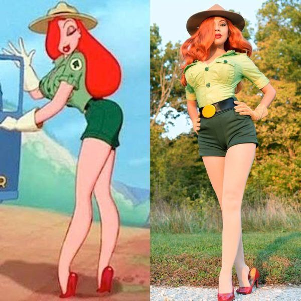"This Park Ranger Jessica Rabbit Cosplay Will Make You Go ""Oh My!"" [Pics]"