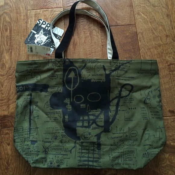 Uniqlo tote NWT A bag that traveled from Japan!  never been used, same design front and back~ UNIQLO Bags Totes