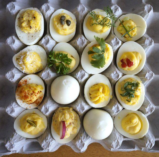 Dozen Deviled Eggs Recipes