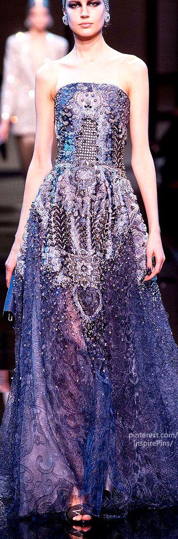 Spring 2014 Couture Armani Privé Collection
