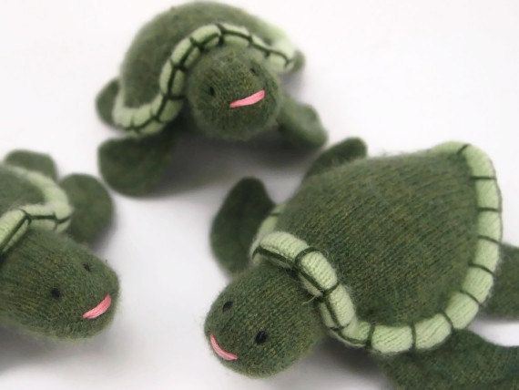 Sea Turtle waldorf toy eco friendly toy by EvesLittleEarthlings, $23.00