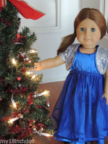27 best American girl doll holiday dresses images on Pinterest