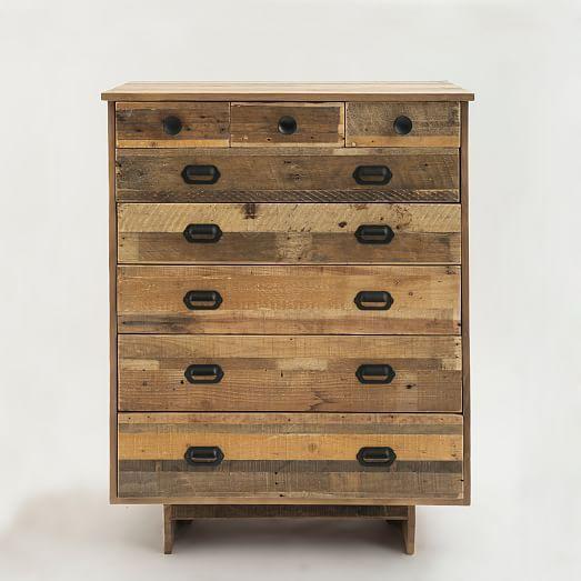 Emmerson™ Reclaimed Wood 8-Drawer Dresser - Natural   west elm