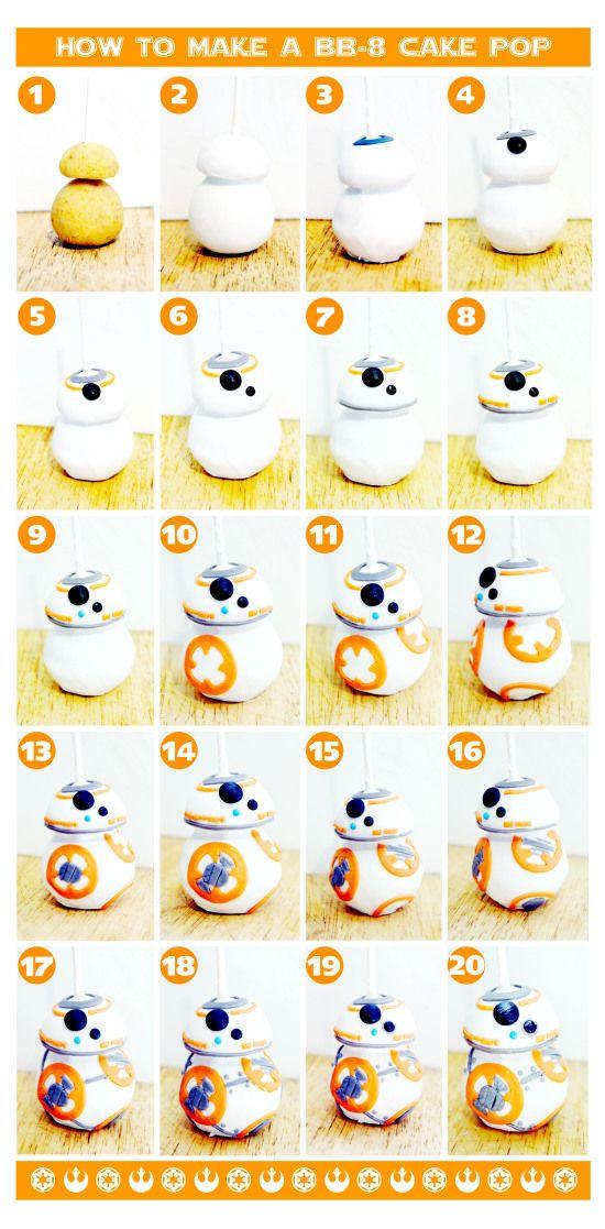 how to make a bb-8 cake pop
