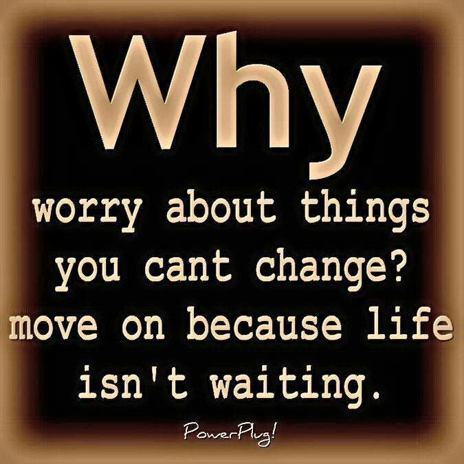 Why worry