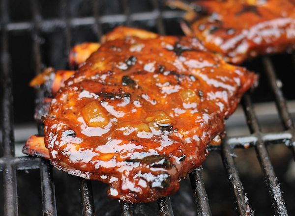 BBQ Spare Ribs Recipe with Pineapple BBQ Sauce