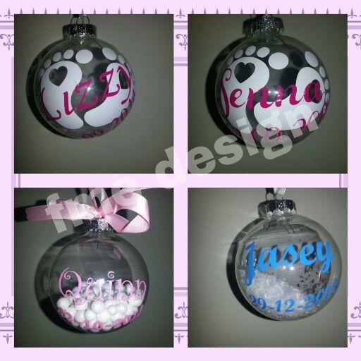 Geboorte kerstbal