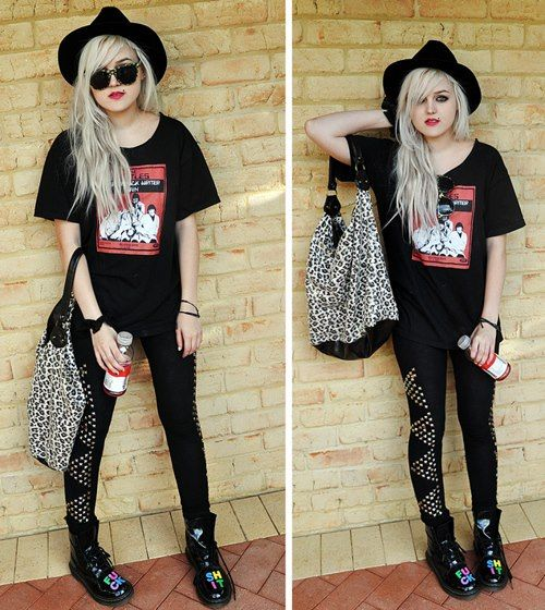 Rock Fashion Tumblr Rock Style Pinterest Rock