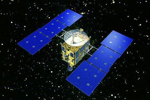 JAXA   小惑星探査機「はやぶさ」(MUSES-C)