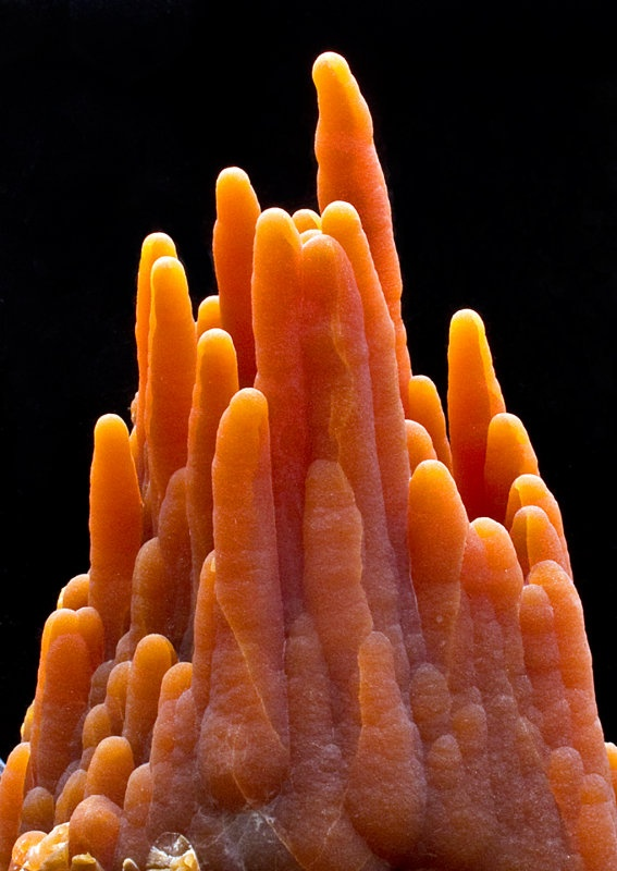 Calcite Stalactite - I have one like this, not a cluster but just one stalactite in this color.