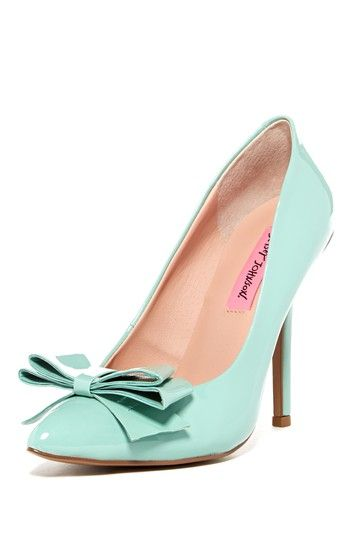 Betsey Johnson Reload Pump by Betsey Johnson on @HauteLook