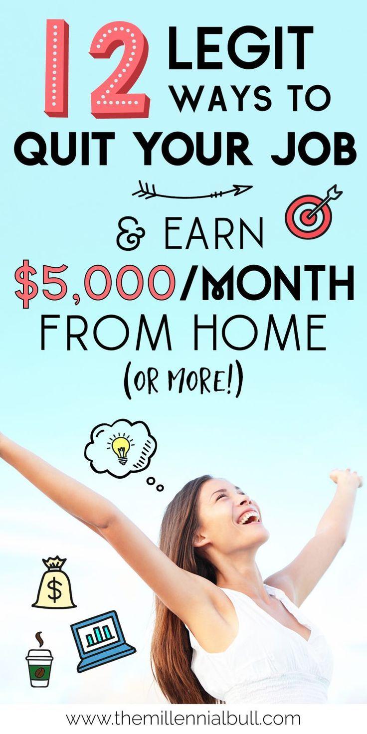 So verdienen Sie Geld von zu Hause aus: 12 echte Arbeit von zu Hause aus
