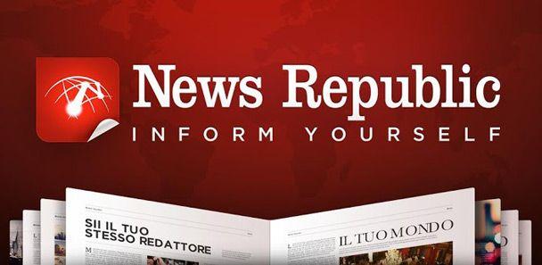 News Republic: un modo accattivante per leggere tutte le notizie che ti interessano