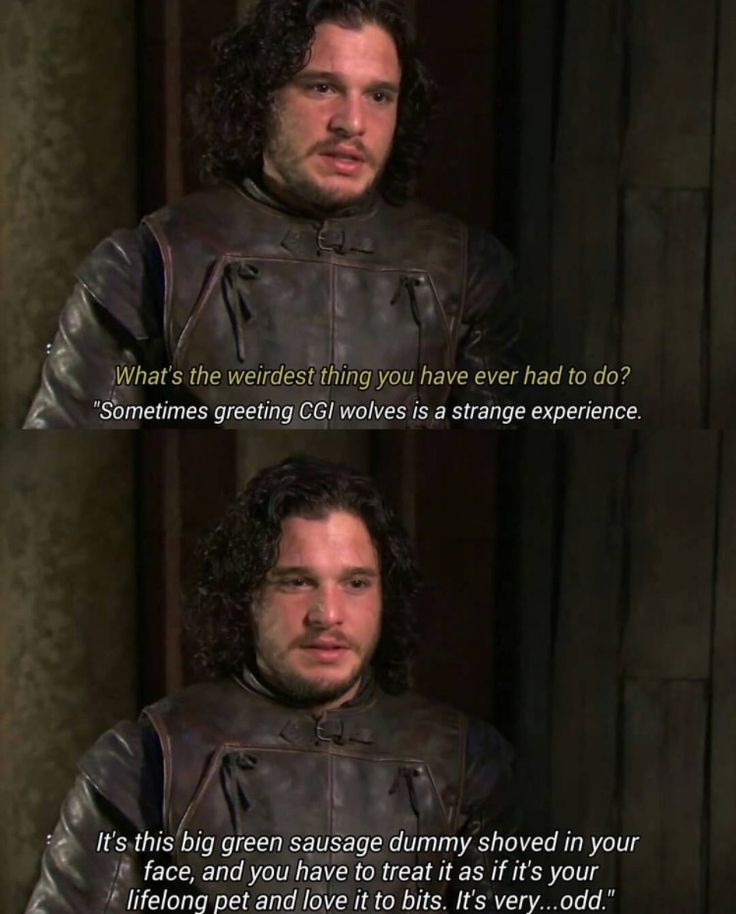Game of Thrones funny cast Kit Harrington Jon Snow