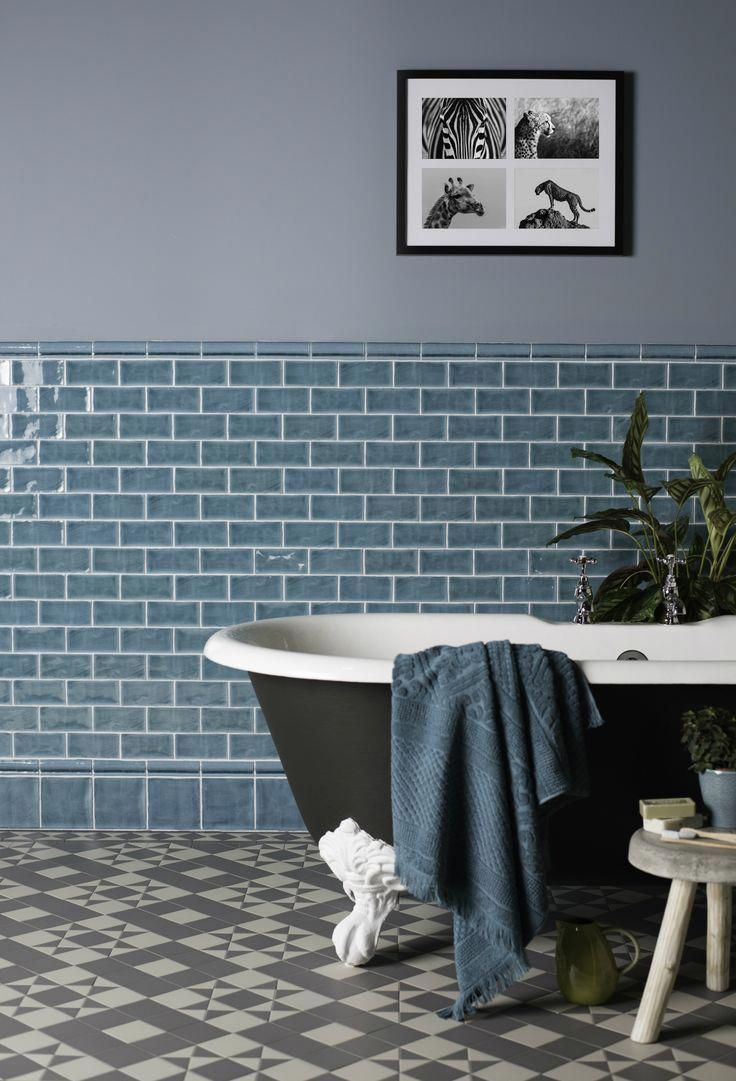 For A Victorian Look To A Traditional Bathroom But With Modern Style Run Half Tiles Along Th Traditional Bathroom Bathroom Trends Traditional Bathroom Designs