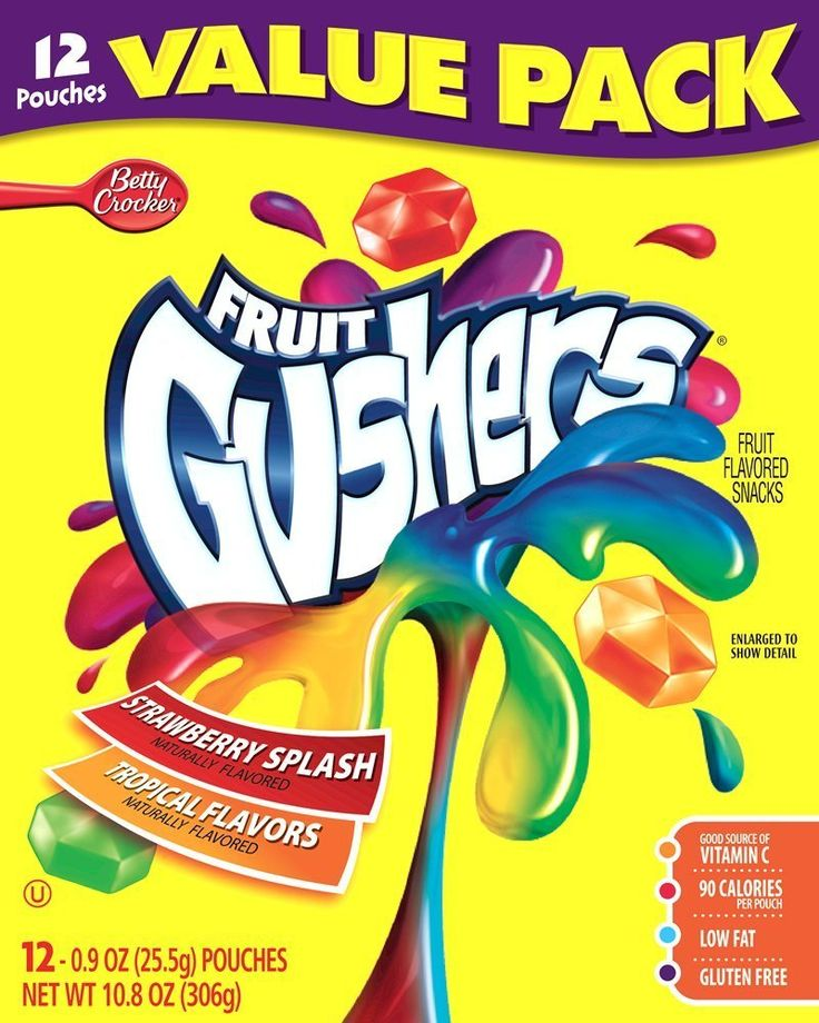 Fruit Gushers Fruit Flavored Snacks, these are so so so good, love em!!!!!!