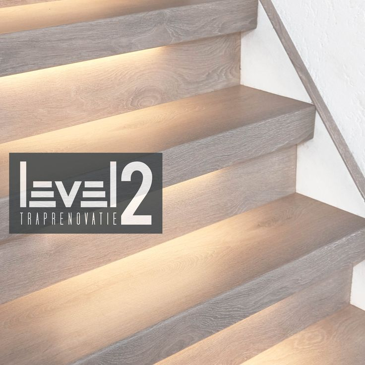 #level2 traprenovatie #trap bekleden #trap renoveren #traprenovatie #led-verlichting