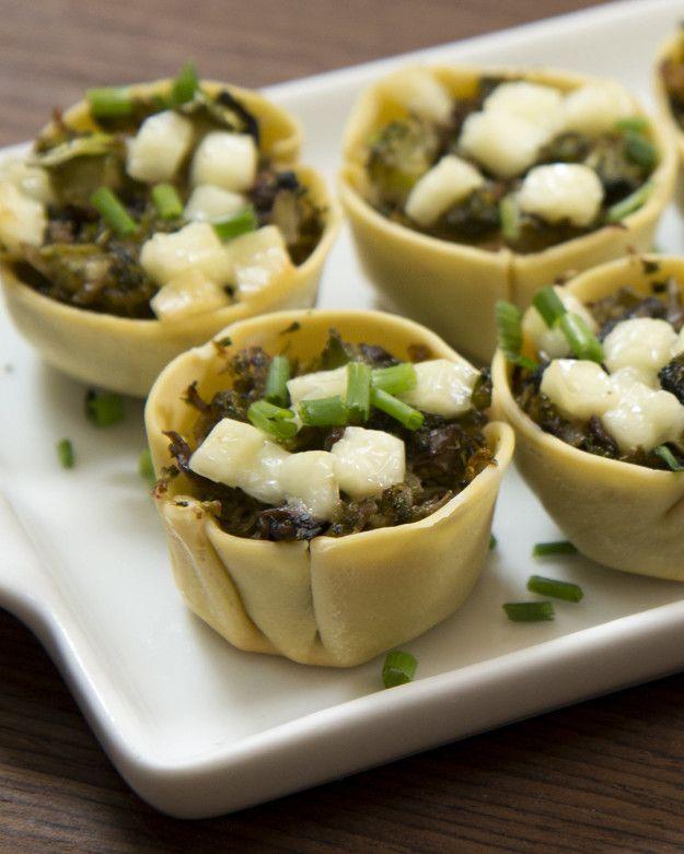 Quem diria que uma entradinha vegetariana iria agradar seus convidados mais exigentes! | Esta cestinha vegetariana é a entrada perfeita para o seu jantar