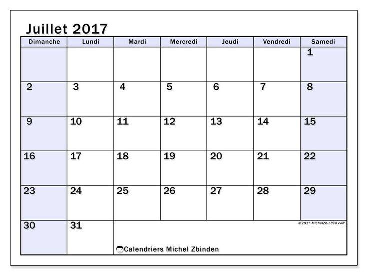"""Calendrier juillet 2017 """"Auxilius"""" par Michel Zbinden (Canada)"""