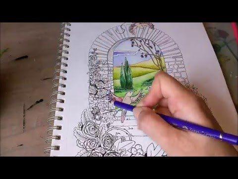 Tekenen met aquarelpotloden en kleurpotloden