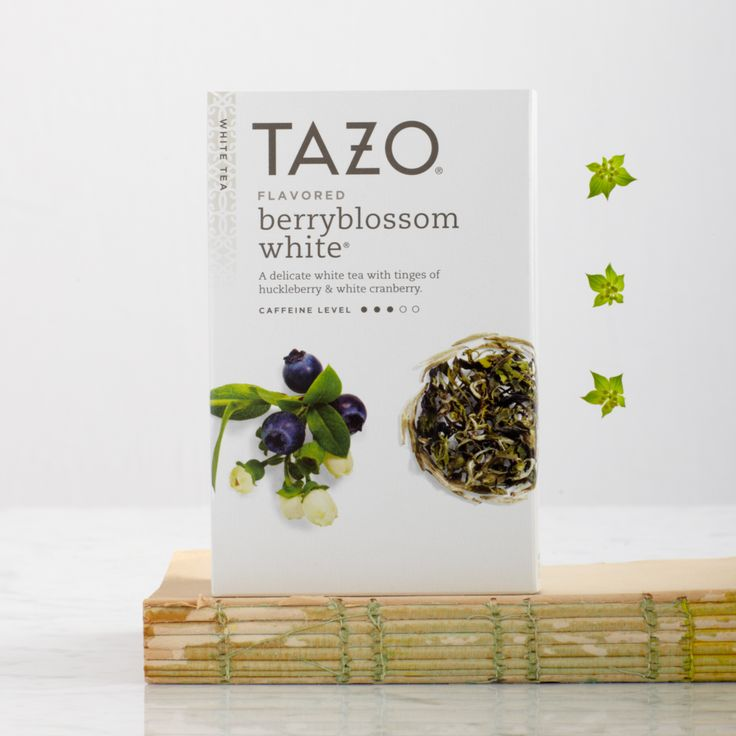 A delicate white tea with tingles of huckleberry and white cranberry. #Tazo   http://www.tazo.com/Product/Detail/24