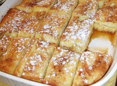 French Toast Bake. Great for Saturday mornings!