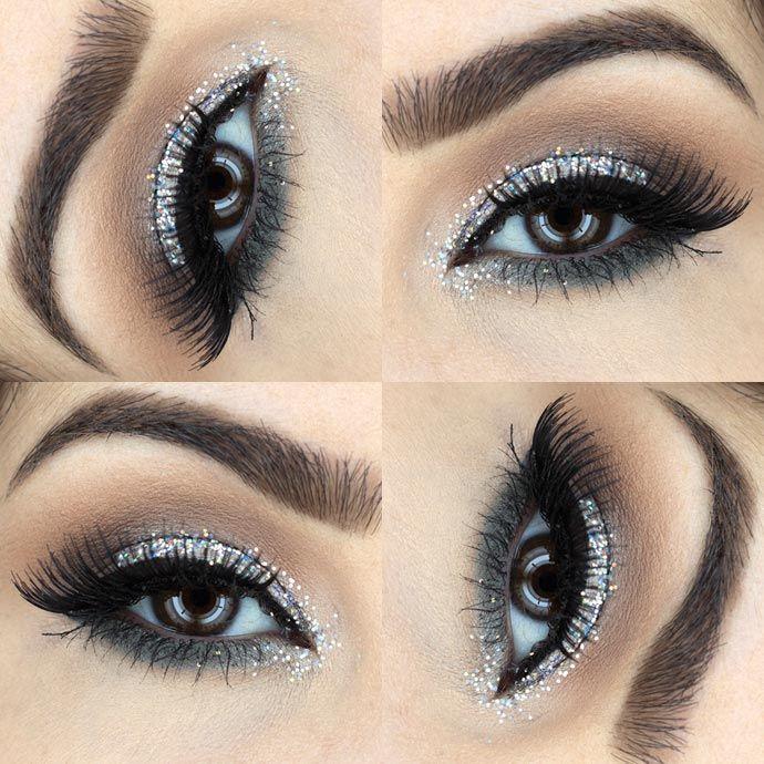 Tutorial – maquiagem prata para festas de fim de ano