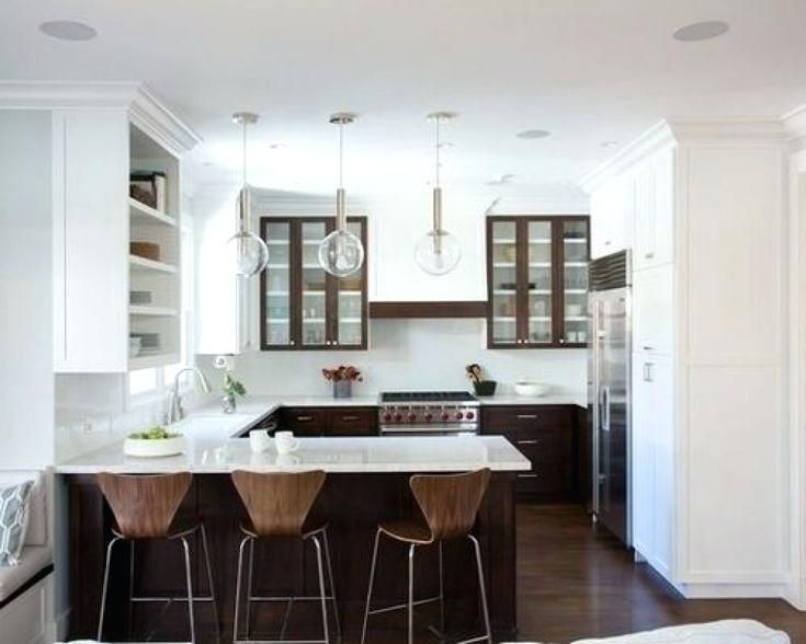Kitchen Peninsula Ideas For Small Kitchens Cabinet White W Remodel Layout Interior Design