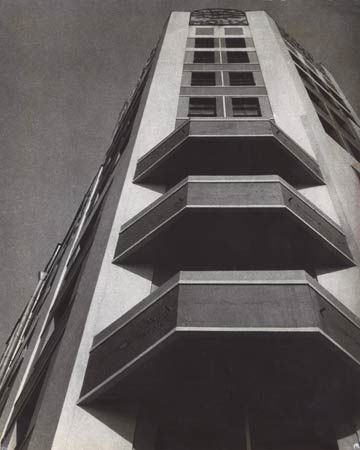 Mosselprom Building by Rodchenko, 1926. Artist print
